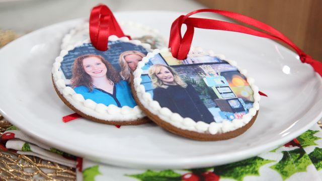 RECIPE: Gingerbread Edible Ornament Cookies #Baking #Recipe #Christmas