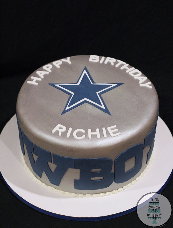 Ideal 42 Best Dallas Cowboys Cakes Images On Pinterest