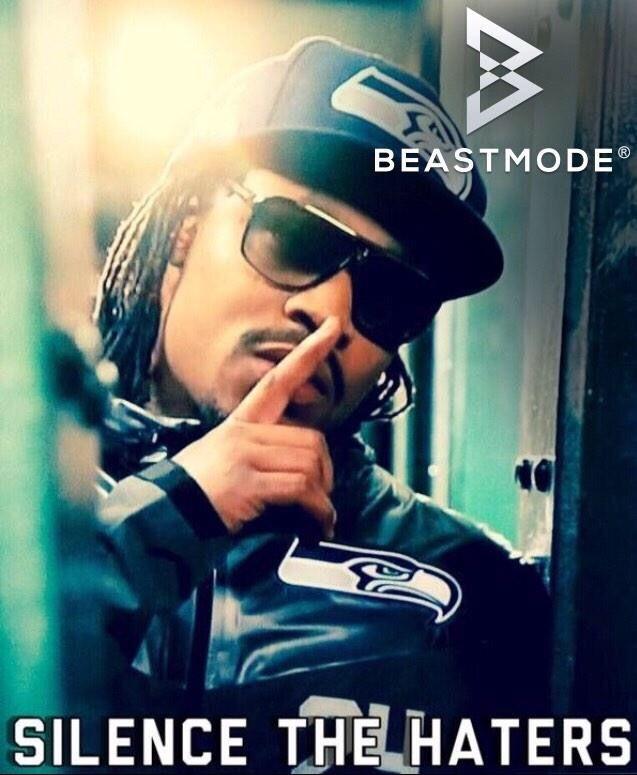 Marshawn Lynch aka Beast Mode, Seattle Seahawks