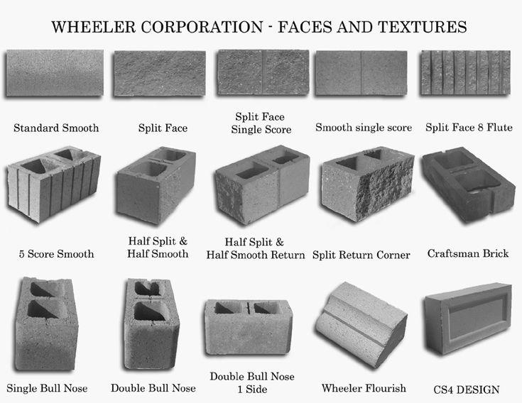 how to finish cut concrete block