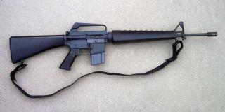 Colt M16 1960s vintage