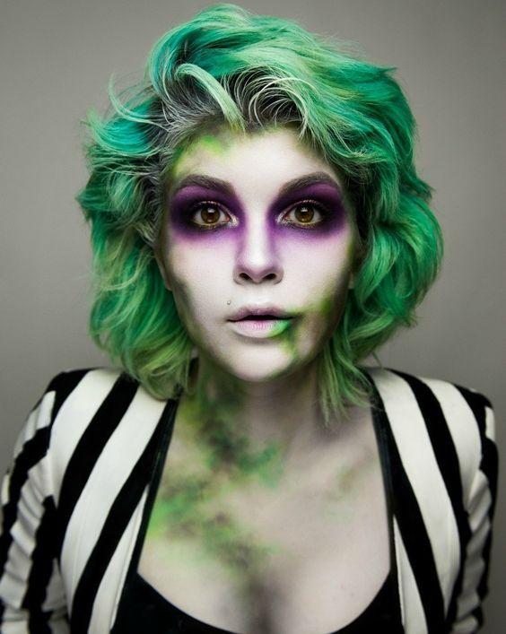 Beetlejuice Kostüm selber machen | Kostüm Idee zu Karneval, Halloween & Fasching