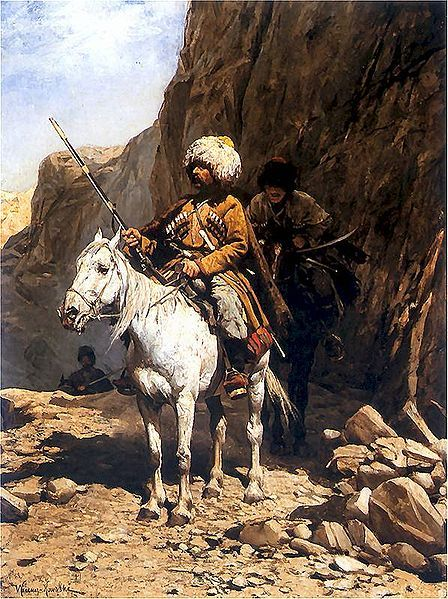 Horseman of the Caucasus, 18th/19th c.