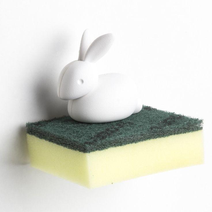 Egouttoir à vaisselle Porte éponge Bunny le lapin Porte éponge Bunny le lapin