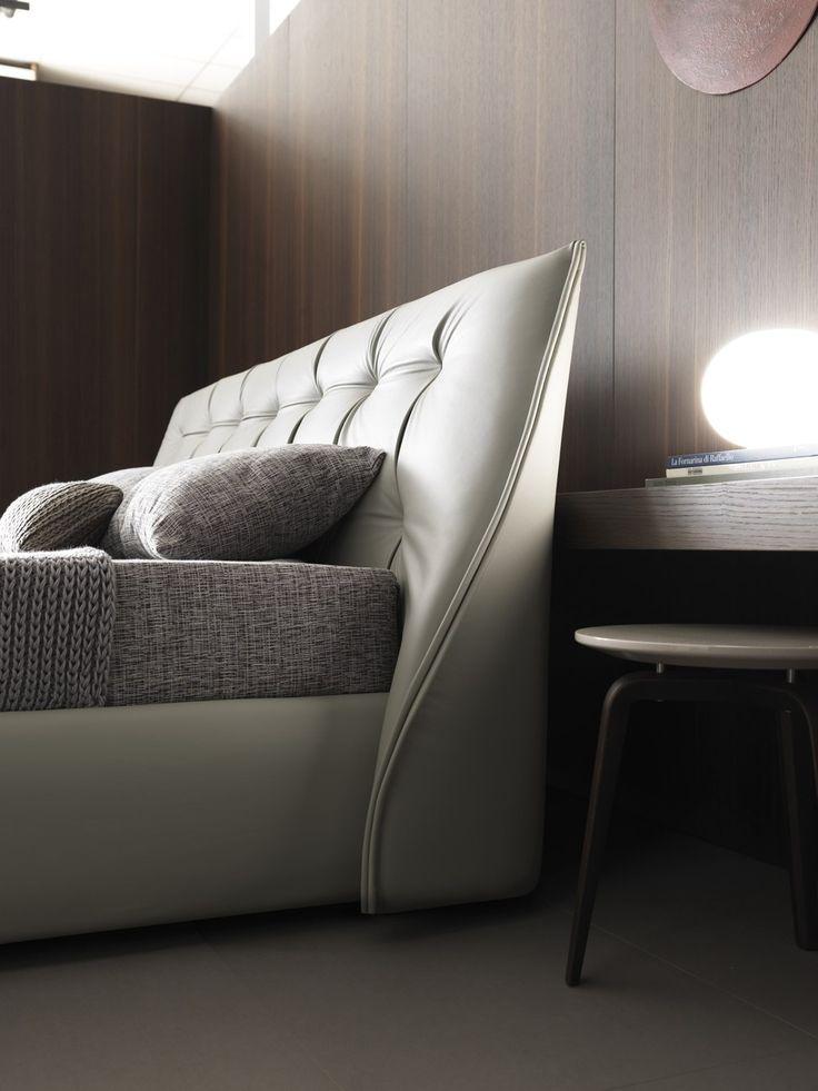 SUMO Leather bed by MisuraEmme design Mauro Lipparini