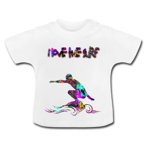 I LOVE THE SEA - Maglietta per neonato