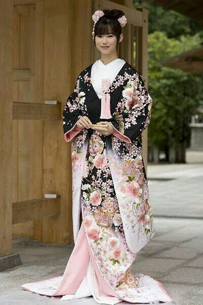 Japanese wedding gown |