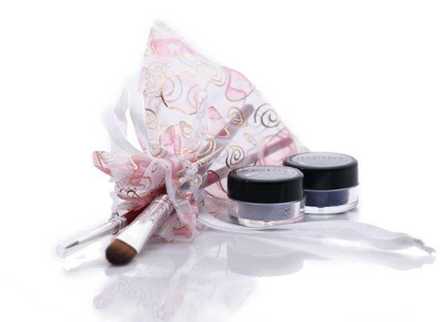Mineral makeup: Smoky Eyes- eye shadow gift set