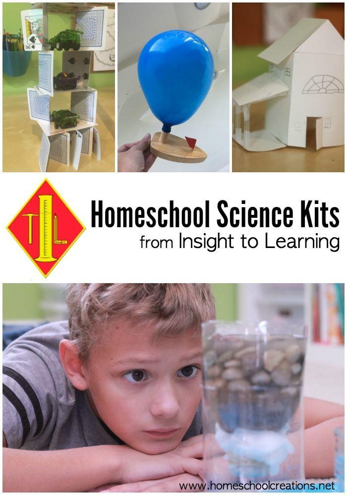 Homeschool Science Kits - subscription progfam for grade K through 5th #STEM