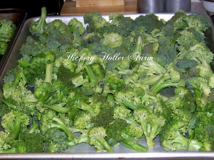 Blanching & Freezing Vegetables
