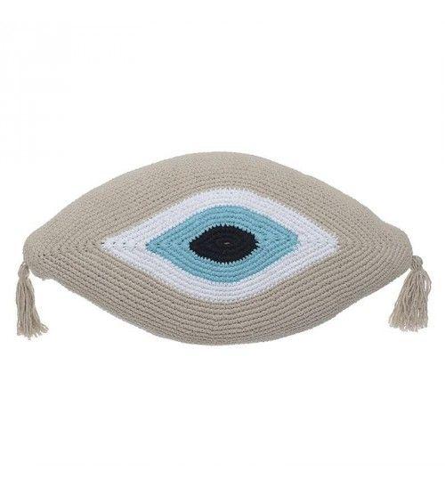 Μακραμέ μαξιλάρι για το μάτι...!! https://guaranteelight.gr/makrame-maxilari-eye