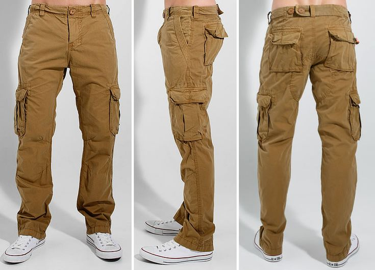 Perfect Escio Khaki Embroidered Cargo Pants  Zulily