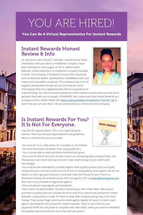 17 Best images about Instant Rewards Referral Agents on Pinterest ...