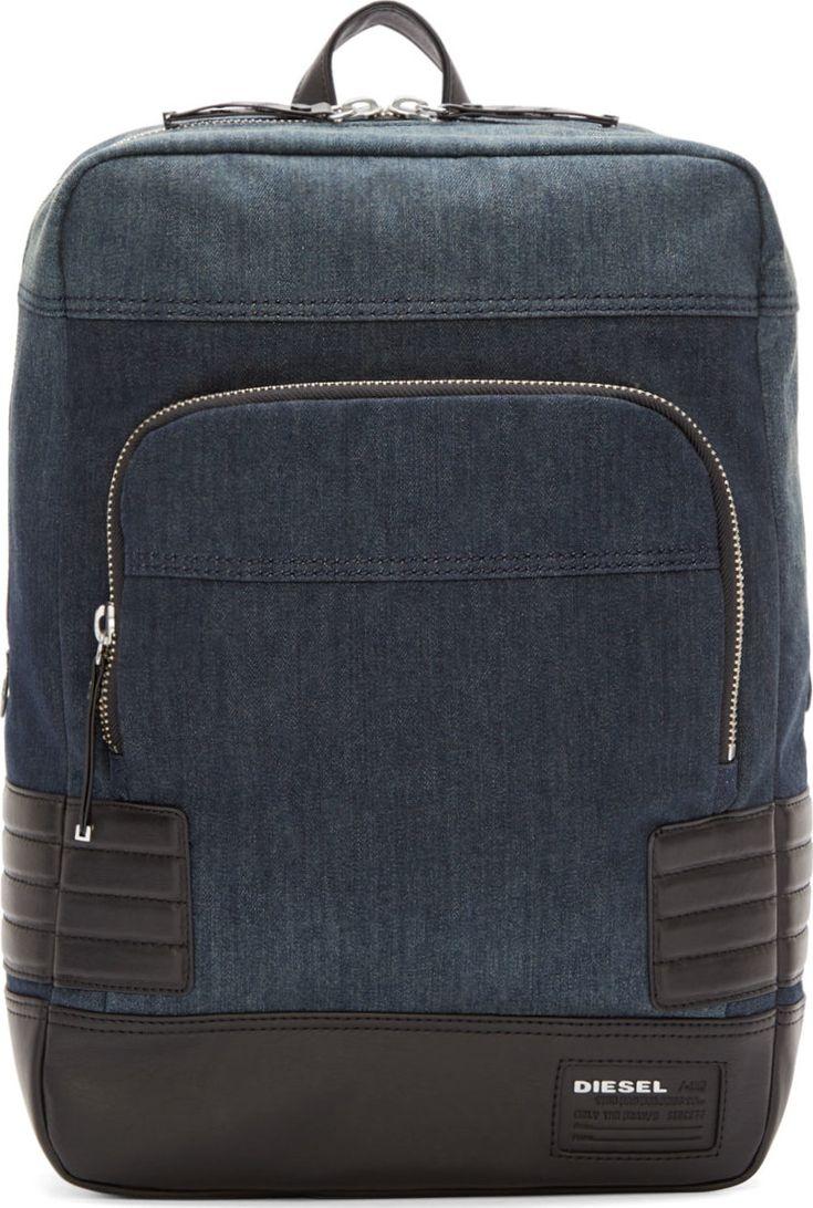 Diesel URBAN PACK DENIM BACKPACK Ebags BackPack Tumblr | leather backpack tumblr | cute backpacks tumblr http://ebagsbackpack.tumblr.com/