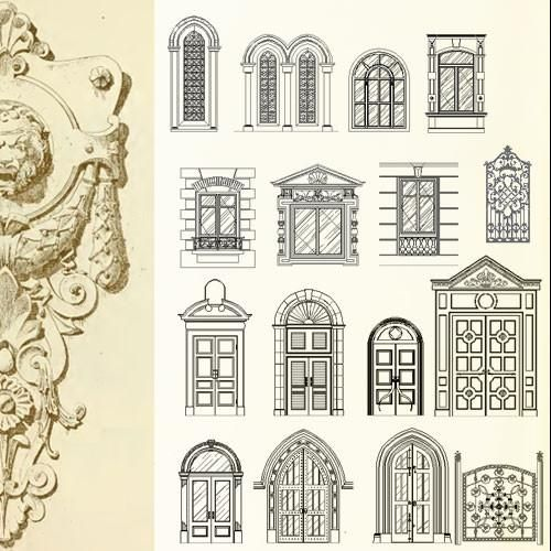 48 Best ★【Architecture Decoration Drawing】★ Images On