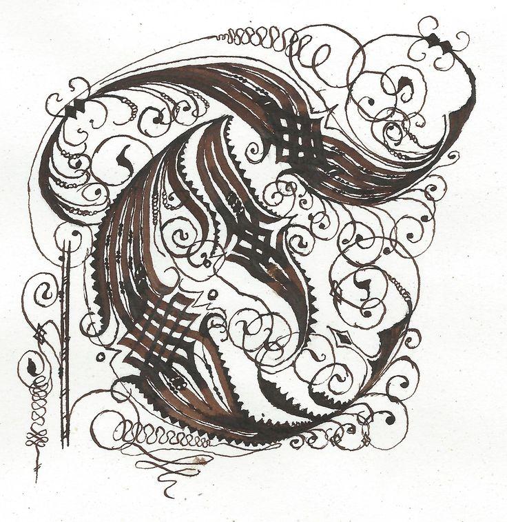 Cadel T Calligraphy Celtic Cadel Pinterest Graphics