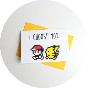 Carte de saint Valentin « I choose you » - Glaaad : Soyez fier de vos produits - Pokemon #Pokemon #Sacha #Pikachu #Ronflex #Dracaufeu #Carapuce #Tortank #Salameche #Bulbizarre #Pokeball #Sacha #Ondine #Pierre #Mew #Mewtoo #151 #150 #Badge - Pokemon #Pokemon #Sacha #Pikachu #Ronflex #Dracaufeu #Carapuce #Tortank #Salameche #Bulbizarre #Pokeball #Sacha #Ondine #Pierre #Mew #Mewtoo #151 #150 #Badge