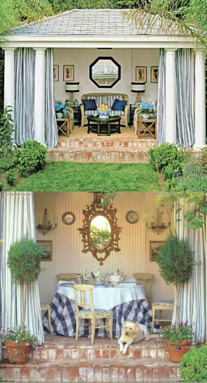 175 best Decorating (She Shed) images on Pinterest   Garden houses ...