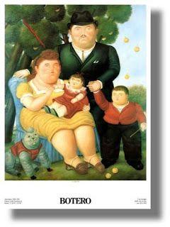 Escena de familia (1969) Botero