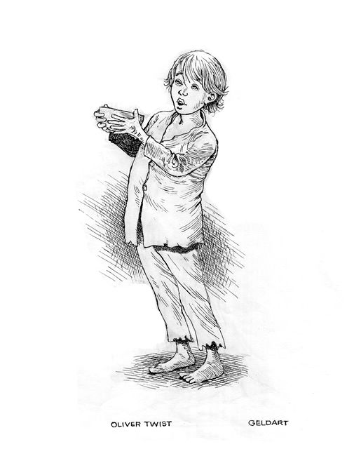 oliver twist coloring pages - photo#19