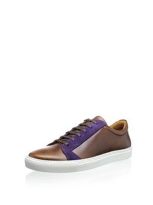 45% OFF The Generic Man Men's Sportsman Low Sneaker (Brown/Plum)