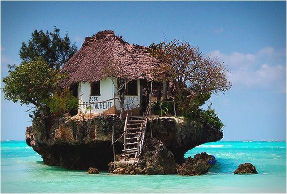 Rock Restaurant in Zanzibar, Tanzania: East Coast, Beaches, The Rocks, Trees Houses, Boats, Treehouse, Private Islands, Tanzania, Restaurant