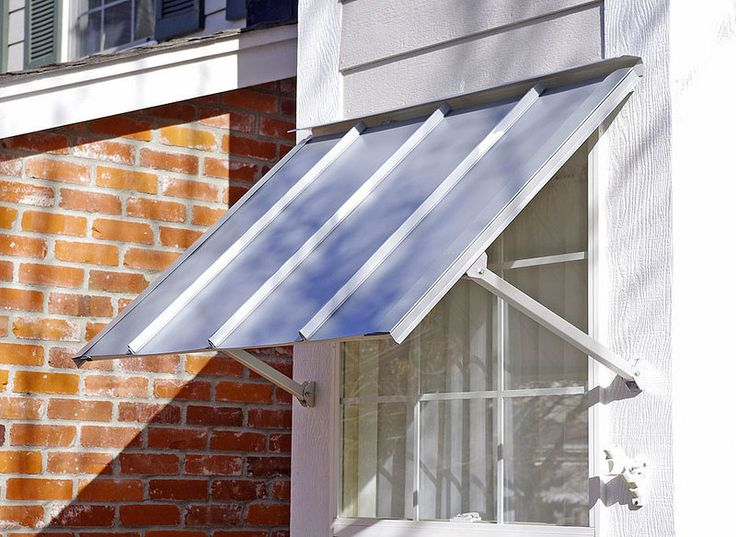 Austin Standing Seam Window Awning | Window awnings ...