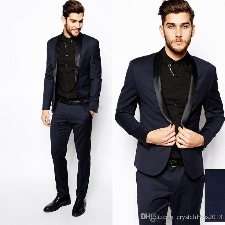 The 25  best Navy blue prom suits ideas on Pinterest   Navy suit ...