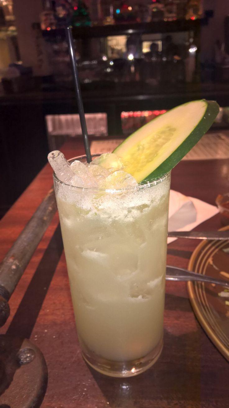 Pepino Margarita @ #Tropisueno#San Francisco. Delicious!