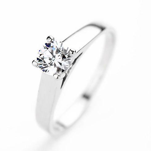 Inel de logodna CORIOLAN cu diamant DR107