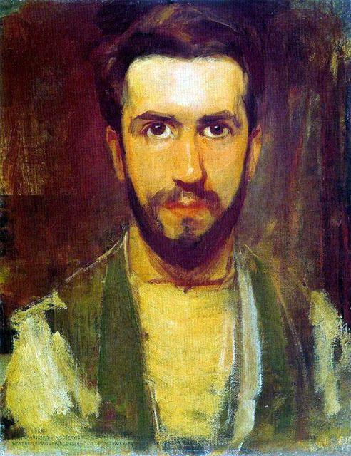 Piet Mondrian (German. 1872-1944) | self portrait