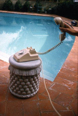 Phone call, Palm Springs 1960