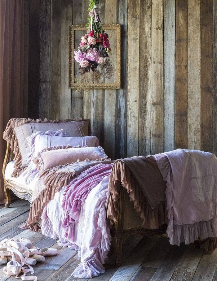 Bella Notte Valentina Bedding Room Home Vintage Bed Decorate Boho Daybed Corner Interior Design