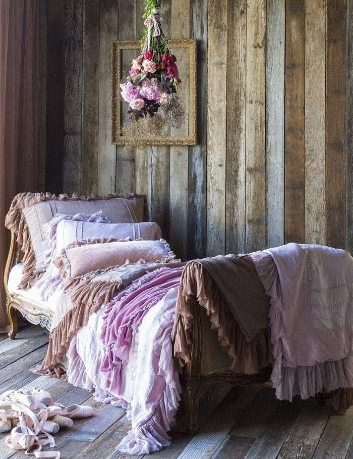 Bella Notte Valentina Bedding Room Home Vintage Bed Decorate Boho Daybed Corner Interior Design