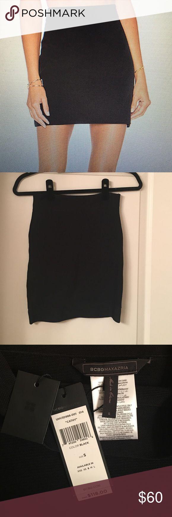 BCBG tight black skirt Never worn bandage tight skirt BCBGMaxAzria Skirts