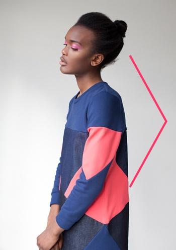 Geometric funky dress!