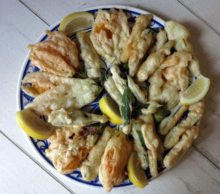 Fritto Misto di Verdure - Majella Home Cooking