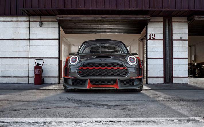 Descargar fondos de pantalla Mini John Cooper Works GP Concepto de 2017, los coches, Mini Cooper, tuning, Mini