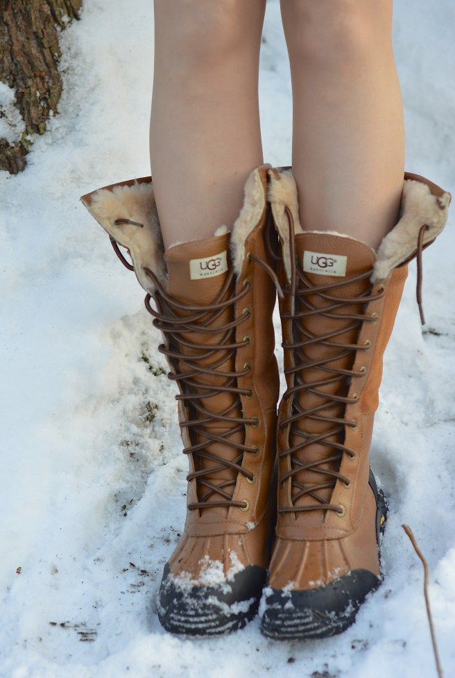 ugg adirondack tall women snow boot - www.basicallyblon...