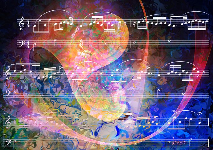 Fractal on the music 4