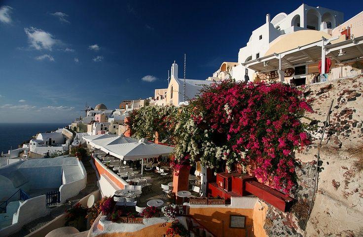 santorini terraces - Bing Images