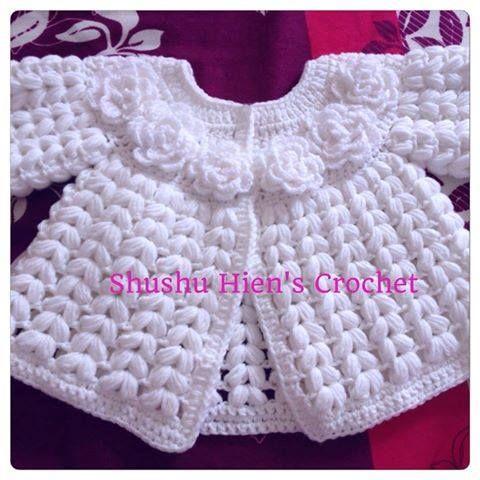 Baby white coat!