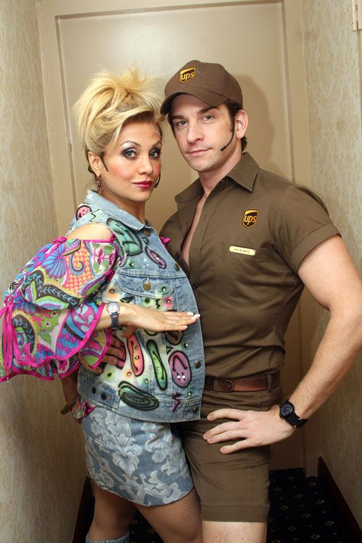 Legally Blonde!!! {Paulette theUPS Guy/Andy Karl § Orfeh who are actually married in real life}