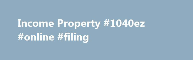 Income Property #1040ez #online #filing http://incom.remmont.com/income-property-1040ez-online-filing/  #free income # Income Property Yard Sale for the Cure 01:20 Season 7, Episode 4 Alison and Deirdre are sisters, best friends, partners in crime, but most of all, nothing alike. Alison wants to buy her very first income property as a retirement investment, but Deirdre thinks it's risky and a hassle. Scott cuts through Continue Reading
