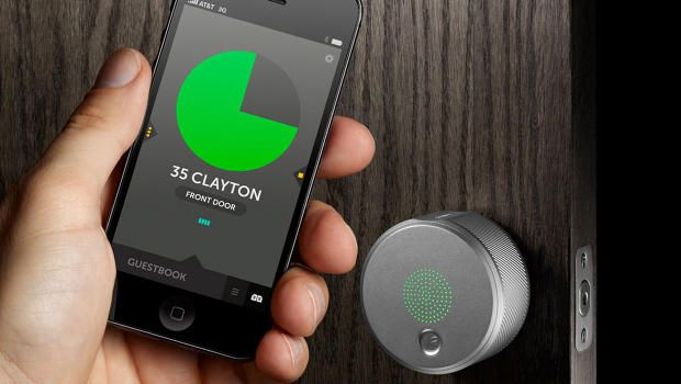 From Fuseproject, A Keyless Door Lock You Control With Your Smartphone