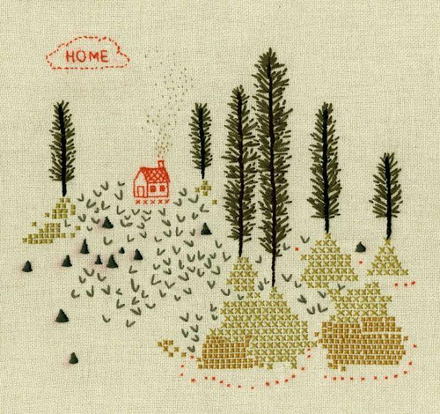 becca stadtlander illustration: a stitch in time...