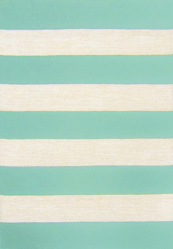 The Thick Stripes And Bold, Beach Inspired Colors Of This #havertys Cabana  Rug Make