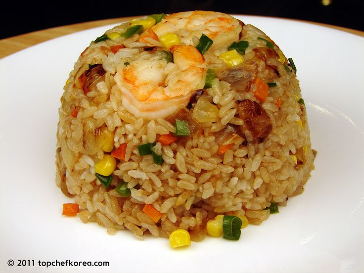 Shrimp Fried Rice (새우 볶음밥) | Top Chef Korea - Authentic Korean Food Recipes in English