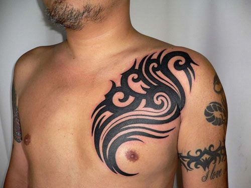 Chest Tattoos: Chest tattoos for men