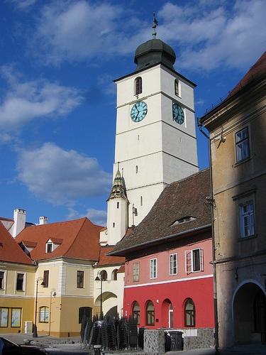 Sibiu, a colorful Saxon city in Transylvania, Romania, www.romaniasfriends.com